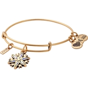 Alex and Ani 2017 Snowflake Charm Bangle Bracelet