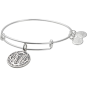 Alex and Ani Godspeed Color Infusion Charm Bangle Bracelet