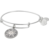 Alex and Ani Healing Love Color Infusion Charm Bangle Bracelet