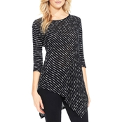 Two by Vince Camuto Asymmetric Hem Knit Top
