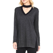 Vince Camuto Choker Neck Sweater