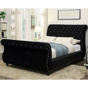 Furniture of America Noella Glam Queen Bed