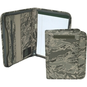 Mercury Luggage Air Force ABU Camo Deluxe Padfolio