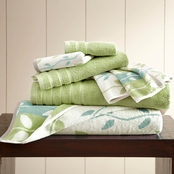 Pacific Coast Textiles 6 Pc. Yarn Dyed Towel Set