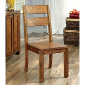 Furniture of America Frontier Dining Chair 2 Pk.