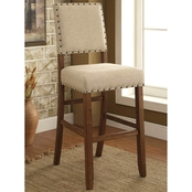 Furniture of America Sania II Bar Chair 2 Pk.