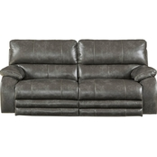 Catnapper Sheridan Power Lay Flat Reclining Sofa with Lumbar Support