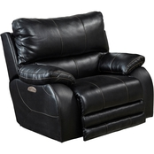 Catnapper Sheridan Power Lay Flat Recliner with Lumbar Support