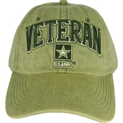 Blync Washed Twill Olive Veteran Army Cap