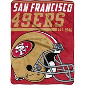 Northwest NFL San Francisco 49ers 40 Yard Dash Micro Throw