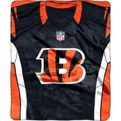 Northwest NFL 07080 Bengals Jersey Raschel Throw