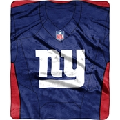 Northwest NFL 07080 NY Giants Jersey Raschel Throw