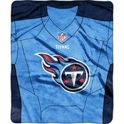 Northwest NFL 07080 Titans Jersey Raschel Throw