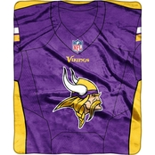 Northwest NFL 07080 Vikings Jersey Raschel Throw