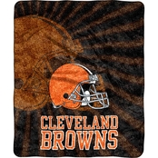 Northwest NFL 065 Browns Sherpa Strobe Throw