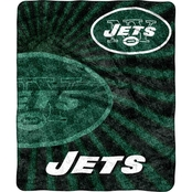 Northwest NFL 065 Jets Sherpa Strobe Throw
