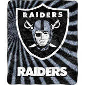 Northwest NFL 065 Raiders Sherpa Strobe Throw