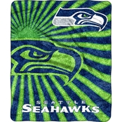 Northwest NFL 065 Seahawks Sherpa Strobe Throw