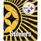 Northwest NFL 065 Steelers Sherpa Strobe Throw