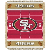 Northwest NFL 04401 49ers Field Baby Throw