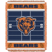Northwest NFL 04401 Bears Field Baby Throw