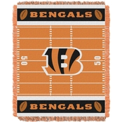 Northwest NFL Cincinnati Bengals Field Baby Throw