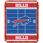 Northwest NFL 04401 Bills Field Baby Throw