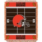 Northwest NFL 04401 Browns Field Baby Throw