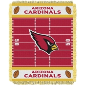 Northwest NFL 04401 Cardinals Field Baby Throw