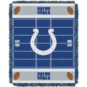 Northwest NFL Indianapolis Colts Field Baby Throw