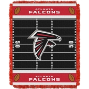 Northwest NFL 04401 Falcons Field Baby Throw