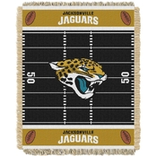 Northwest NFL 04401 Jaguars Field Baby Throw