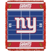 Northwest NFL 04401 NY Giants Field Baby Throw