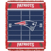 Northwest NFL 04401 Patriots Field Baby Throw