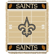 Northwest NFL 04401 Saints Field Baby Throw