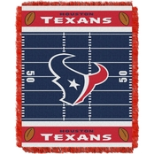 Northwest NFL 04401 Texans Field Baby Throw