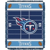 Northwest NFL 04401 Titans Field Baby Throw