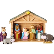 Roman 8 Pc. Nativity Scene with Stable