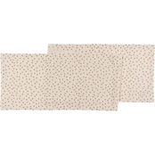 Now Designs Gala Gold 100% Cotton Table Runner 13x72