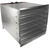 Weston Pro-1000 Stainless Steel 10 Tray Food Dehydrator