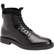Calvin Klein Devlin Box Leather Boots