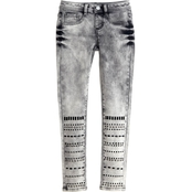 Squeeze Girls Studded Skinny Jeans