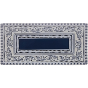Fitz and Floyd Maxwell and Williams Blue Antico Rectangular Platter 38x18cm