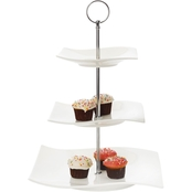Fitz and Floyd Maxwell and Williams Motion 3 Tier Cake Stand