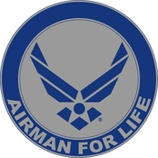 Mitchell Proffitt Airman For Life Decal