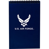 TLJ Marketing & Sales Air Force Spiral Notebook