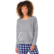 Sleep Zenista Super Cozy Superspan Fleece Top