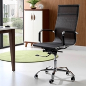 Hodedah Mid Back Mesh Office Chair
