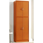 Hodedah 4 Door Pantry with 5 Sub Compartments