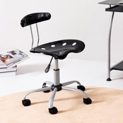 Hodedah Armless ABS Task Chair